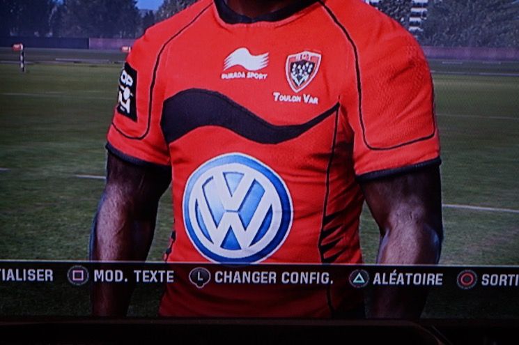 rugby challenge maillot